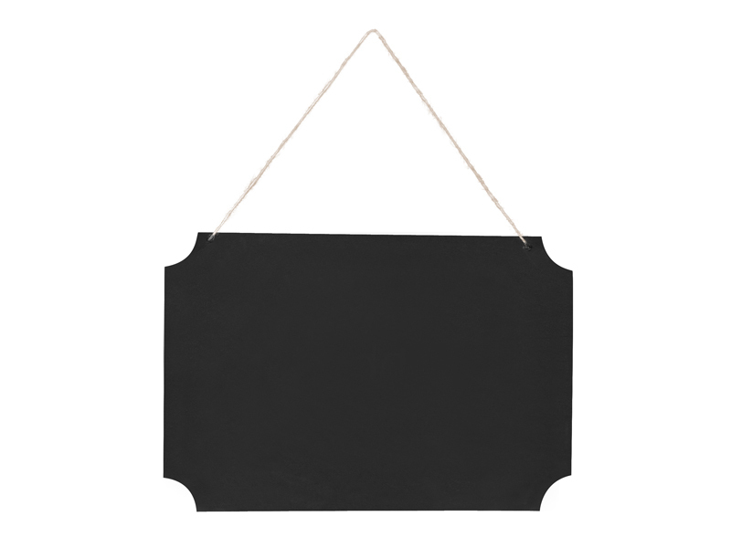 Tableau ardoise noir blanc organza - Tableau ardoise noir ...
