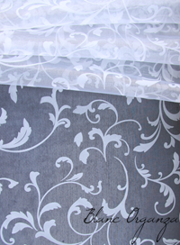 Chemin de table en Organza